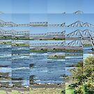 Connel Bridge with the Tide Flowing by cuilcreations