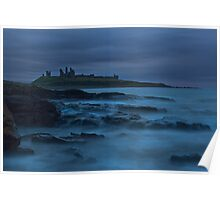"""""""Dawn Dunstanburgh Castle""""  Northumberland Poster"""