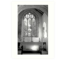 St. Martins on the Walls, Wareham, Dorset, England Art Print