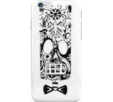 Calavera Black iPhone Case/Skin
