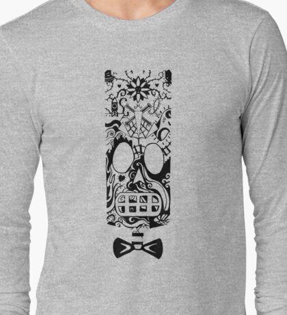 Calavera Black Long Sleeve T-Shirt