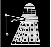 Dalek Yo-Yo T-shirt Photographic Print