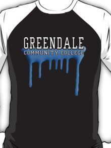 Community - Greendale Paintball Blue T-Shirt