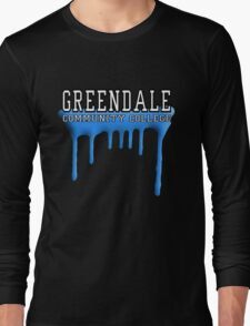 Community - Greendale Paintball Blue Long Sleeve T-Shirt