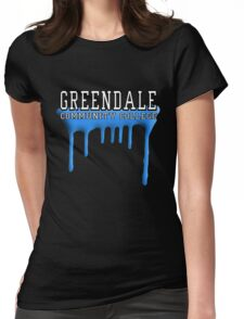 Community - Greendale Paintball Blue Womens Fitted T-Shirt