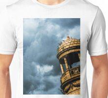 Orange Tower, Blue Sky Unisex T-Shirt