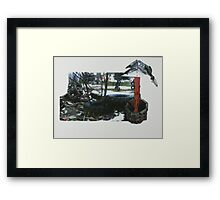 Empty Playground  Framed Print