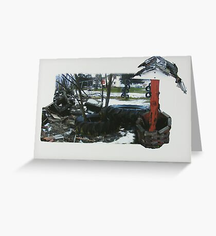 Empty Playground  Greeting Card