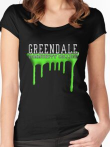 Community - Greendale Paintball Green Women's Fitted Scoop T-Shirt