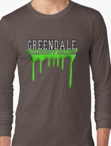Community - Greendale Paintball Green Long Sleeve T-Shirt