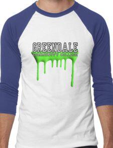 Community - Greendale Paintball Green Men's Baseball ¾ T-Shirt