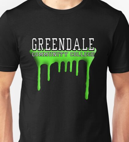 Community - Greendale Paintball Green Unisex T-Shirt