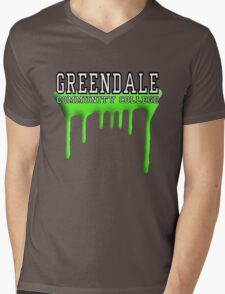 Community - Greendale Paintball Green Mens V-Neck T-Shirt
