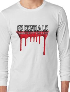 Community - Greendale Paintball Red Long Sleeve T-Shirt