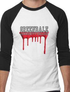Community - Greendale Paintball Red Men's Baseball ¾ T-Shirt