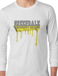 Community - Greendale Paintball Yellow Long Sleeve T-Shirt