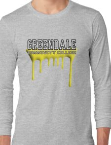Community - Greendale Paintball Yellow Long Sleeve T-Shirt