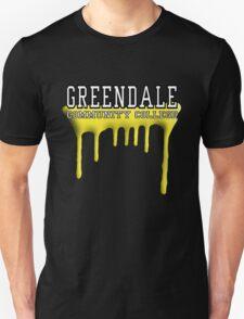 Community - Greendale Paintball Yellow T-Shirt