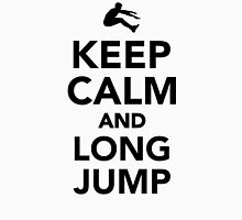 Keep calm and long jump Unisex T-Shirt