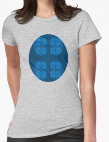 Golden Spiral Fractal Pattern - Blue T-Shirt