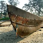 Beached Boat by SerenaB