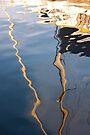 Yacht Reflections by Leon Heyns