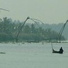 Chinese Fishing Nets at Kochi by SerenaB