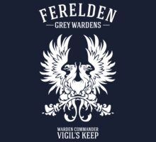 Grey Wardens - Warden Commander (light) by firlachiel