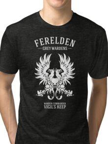 Grey Wardens - Warden Commander (light) Tri-blend T-Shirt