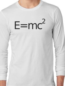 E equals M C 2 squared.... Long Sleeve T-Shirt