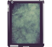 Smoke Texture with Paper Texture iPad Case/Skin