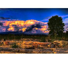 Dawn Cracking (Same Source HDRI Challenge) Photographic Print