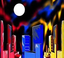 """IntenseCity: Aurora Borealis"" by Steve Farr"