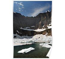 Iceberg Lake, Many Glacier Poster
