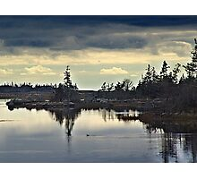 Early Morning In The Salt Marsh Photographic Print