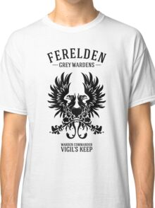Grey Wardens - Warden Commander (dark) Classic T-Shirt