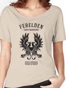 Grey Wardens - Warden Commander (dark) Women's Relaxed Fit T-Shirt