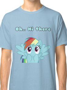 Rainbow Dash says Hi Classic T-Shirt