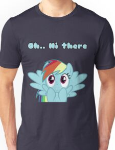 Rainbow Dash says Hi Unisex T-Shirt