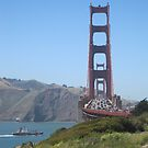 Golden Gate Bridge- San Francisco by sunsetgirl