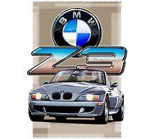 BMW Z3 Silver by davidkyte