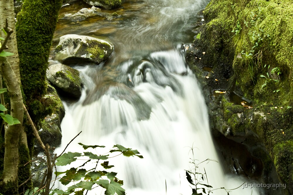 Upstream Aira Force - Ullswater by jd-photography