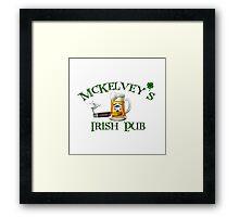 McKelvey's Irish Pub Framed Print