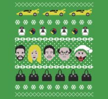 Its Always Sunny- Ugly Christmas Sweater ... T-shirt by kellandria