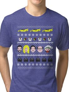 Its Always Sunny- Ugly Christmas Sweater ... T-shirt Tri-blend T-Shirt