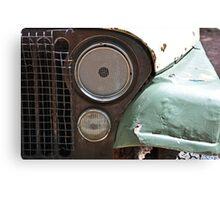Old Car Bumper Canvas Print