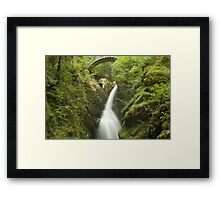 Cascading Waters - Aira Force, Ullswater Framed Print