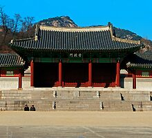 Gyeonghuigung Palace, Seoul, South Korea. by bulljup