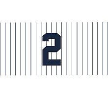 Number 2 Pinstripe Design Photographic Print