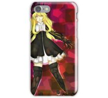 Chariot - Black Rock Shooter iPhone Case/Skin